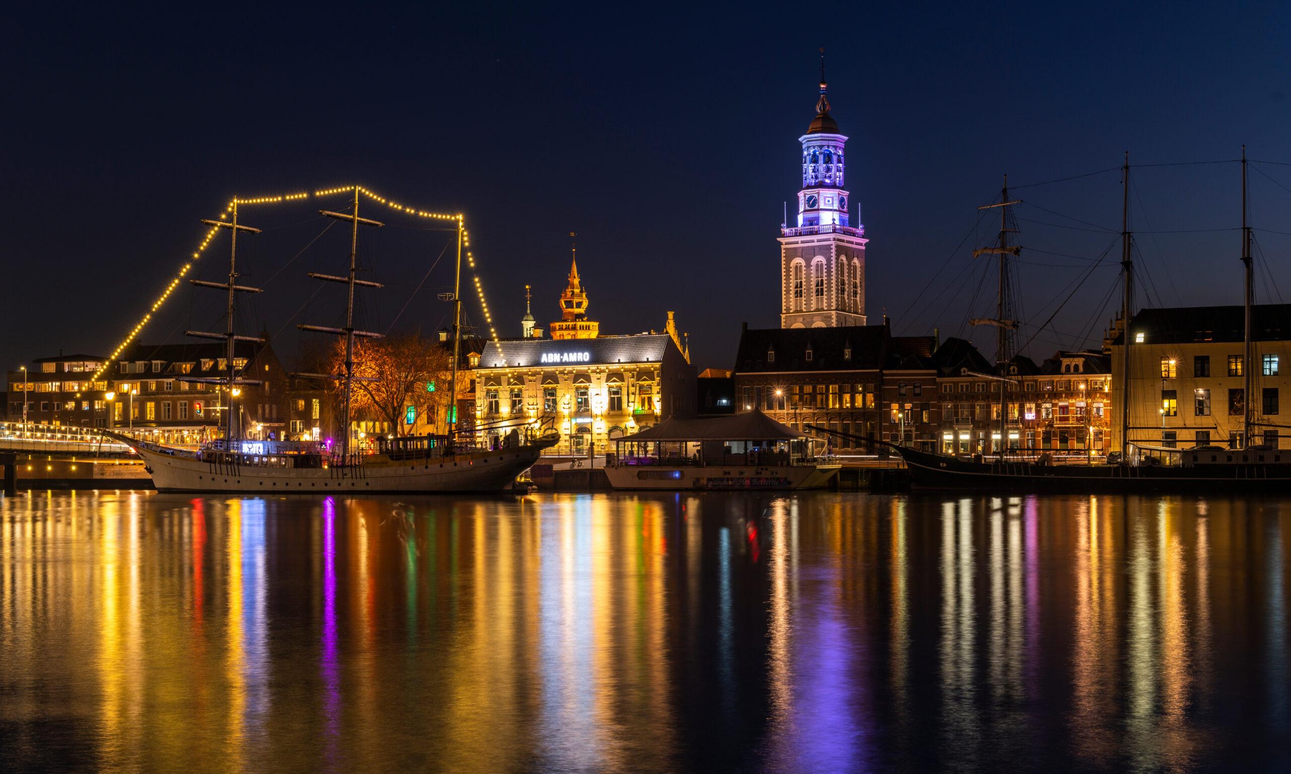 Kampen,,Netherlands,-,February,27,,2019:,Monumental,City,Of,Kampen